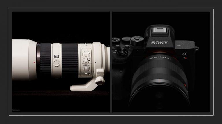 promofoto kiest voor sony A7
